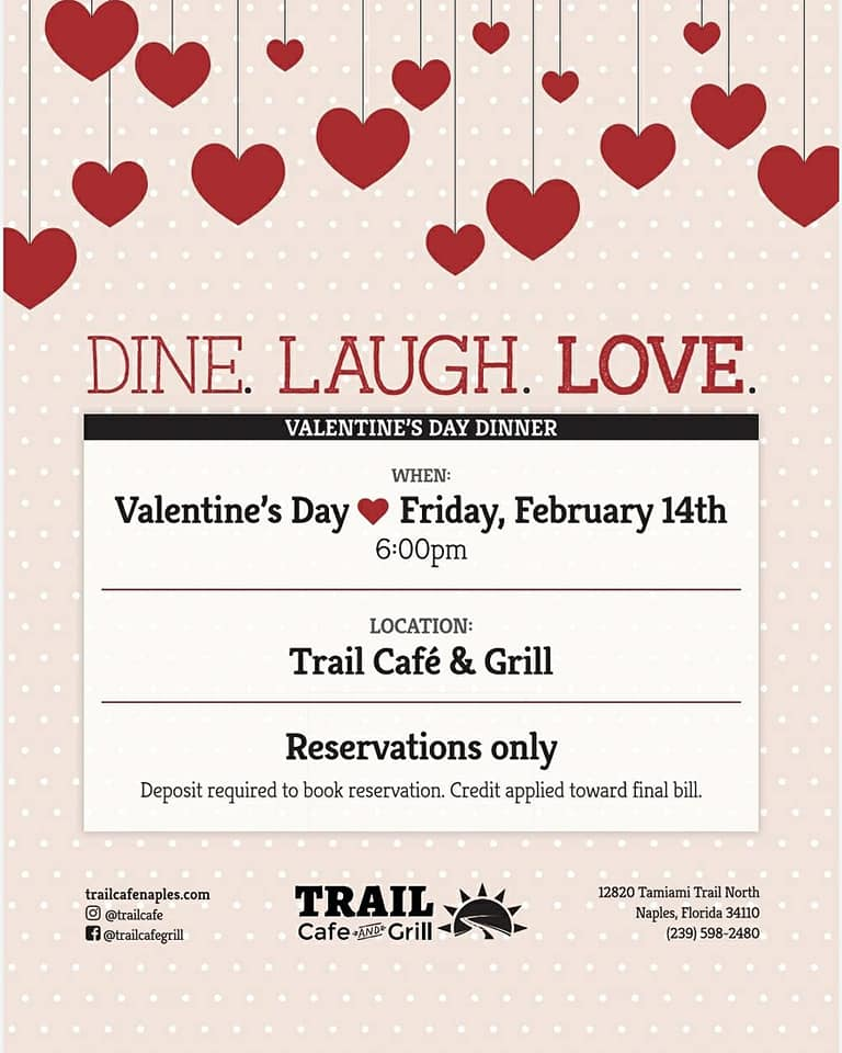 Live. Laugh. Love. Valentine's Day Dinner
